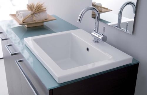Mobiles Badezimmer Vip, moderner Schrank mit Unterlegscheibenabdeckung mc