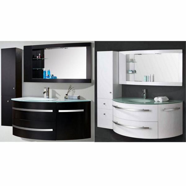 Bathroom Vanity 120 35 Cm Black Or