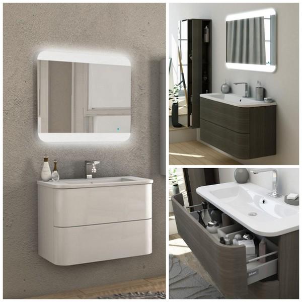 Angel 80 Modern Bathroom Cabinet 100cm
