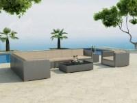 Mara Ecksofa 270x80 großes Sofa Silber Sessel 5 mm Kristall Tisch