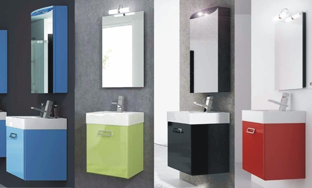Mobile Bagno 50 Cm.Modern Bathroom Vanity Available 20 Colours