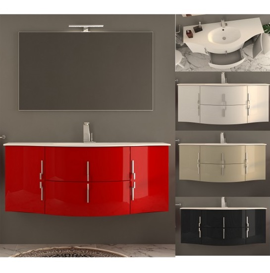 Sting Bathroom Vanity 138 Cm In 4