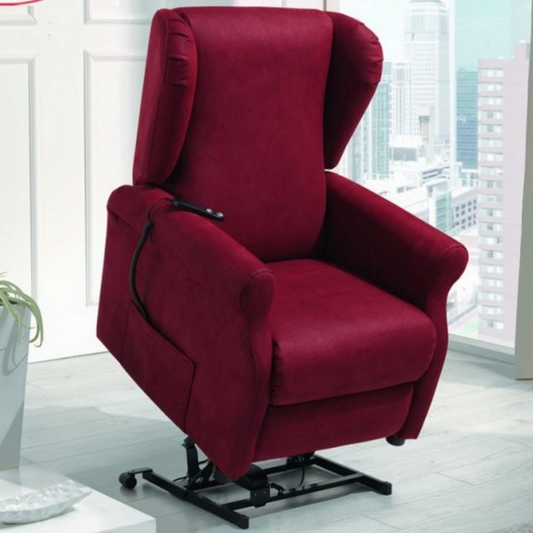 Poltrona Massaggiante Lift.Reclining Lift Armchair With A Removable Cover Two Motors Medical Device Roller Kit Serena Model