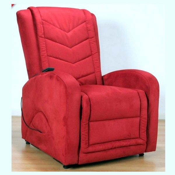 Poltrona Massaggiante Lift.Reclining Relaxing Armchair With Two Independent Motors And Removable Seat Cover Multi Massage Ilaria Model