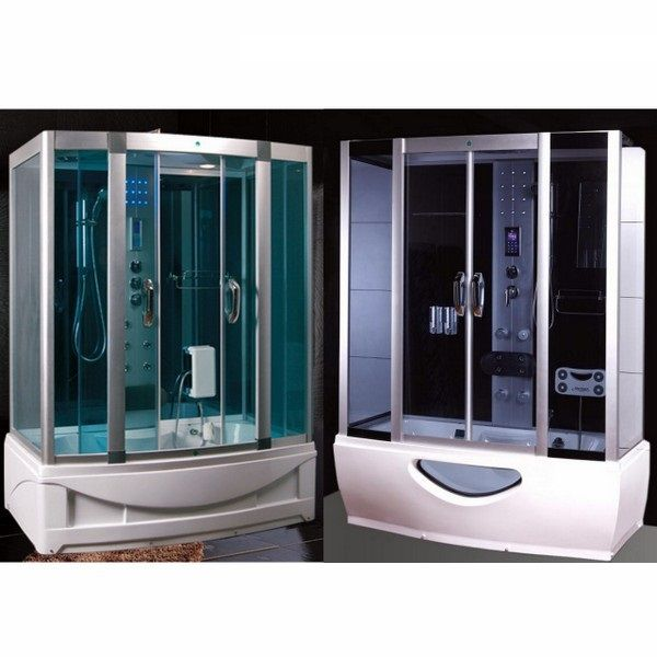 Hydromassage Shower Cabin With Jacuzzi In Various Sizes With