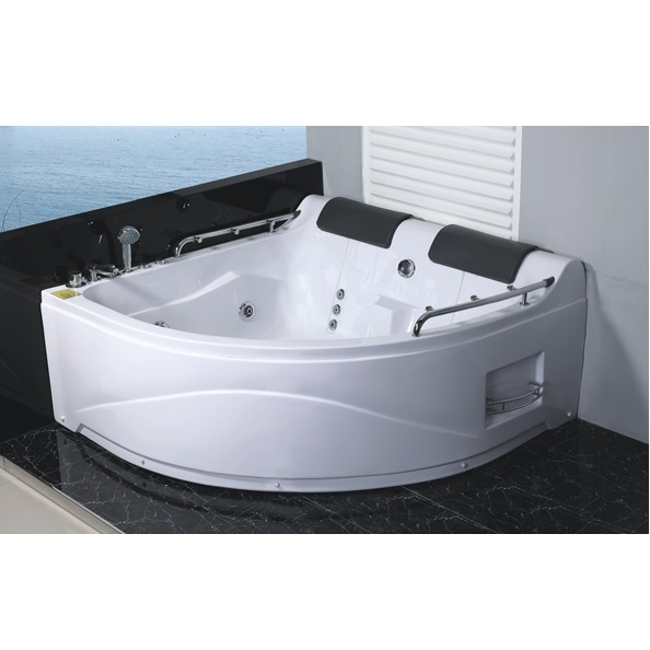 baignoire jacuzzi 150x150 deux places version droite. Black Bedroom Furniture Sets. Home Design Ideas