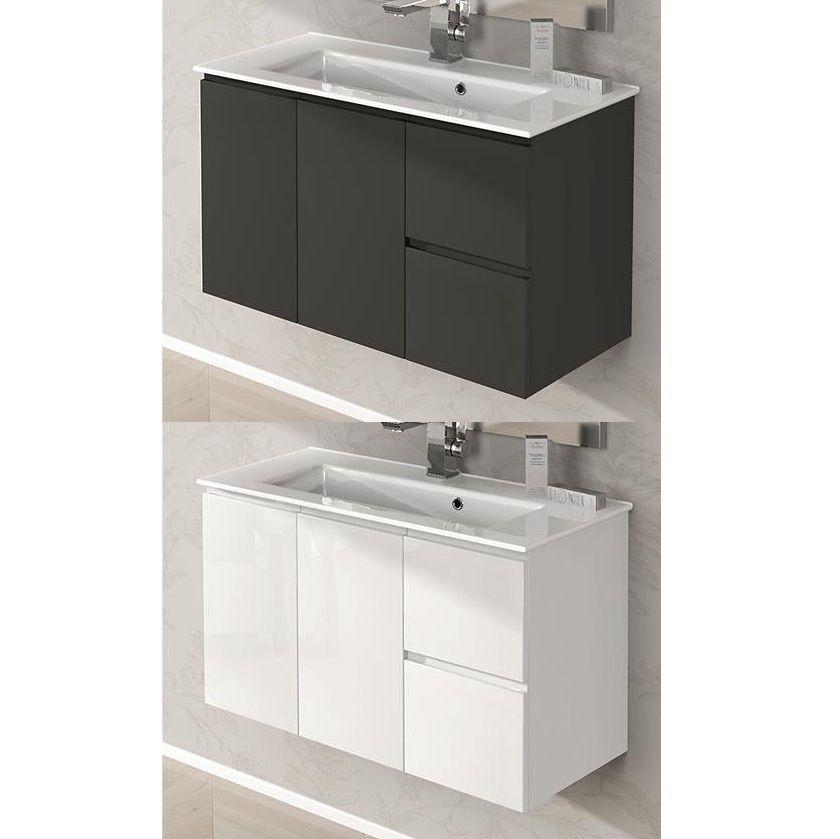 100cm Ultra Slim Bathroom Vanity