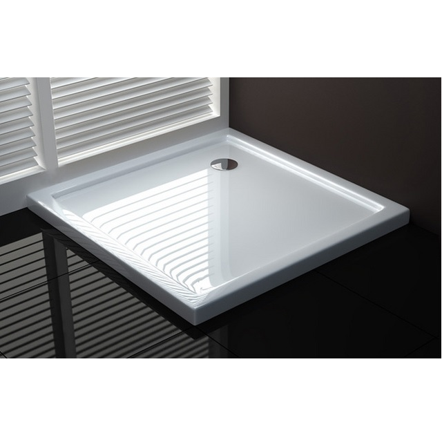 Ultra-thin acrylic shower tray, various sizes and shapes