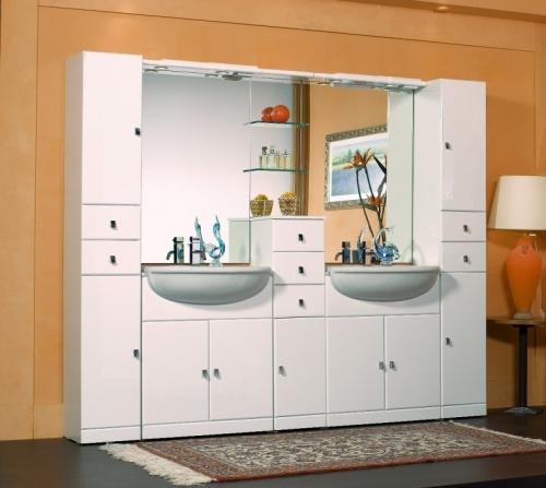 Cleo Bathroom Cabinet Semi Recessed