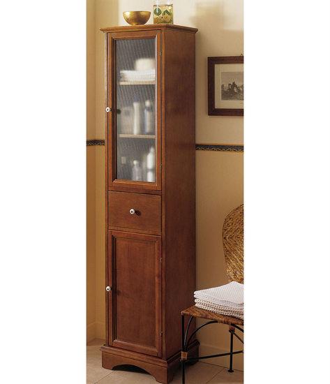 Single Arte Povera Column Cabinet Made Of Solid Poplar Wood