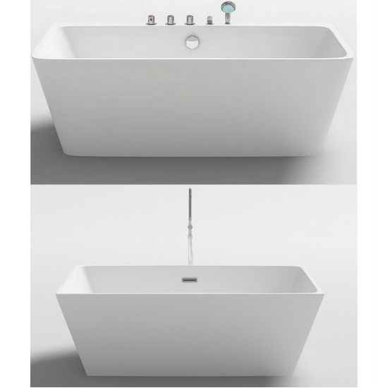 Freestanding Bathtub In Two Sizes 170x80 Or 160x80 Modern Style