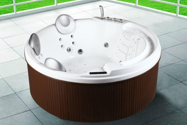 Outdoor hot tub 200x200x80