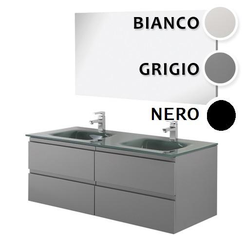 Muebles Bano Lavabo Cristal.Muebles De Bano Negro Muebles Modernos Lavabo Doble Br
