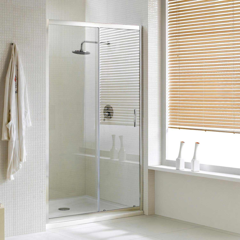 Porte de coin douche une porte coulissante h198 cm verre 6 mm en plusieurs dimensions pr003 - Porte coulissante pour douche de 130 cm ...