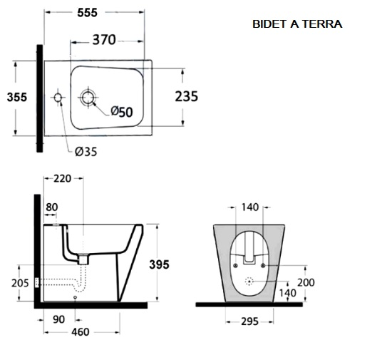 Smart Sanitary Ware Wall Hung Or Floor Mounted Wc And Bidet With
